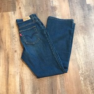 Levi's 512 Perfectly Slimming Boot Cut Jeans sz 4P